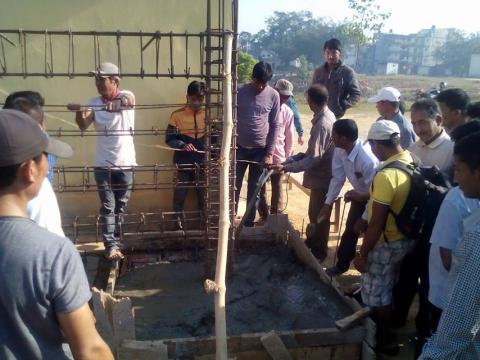 भूकम्प प्रतिरोघी भवन निर्माणको तालिम सम्पन्न | २०७२/१२/३०